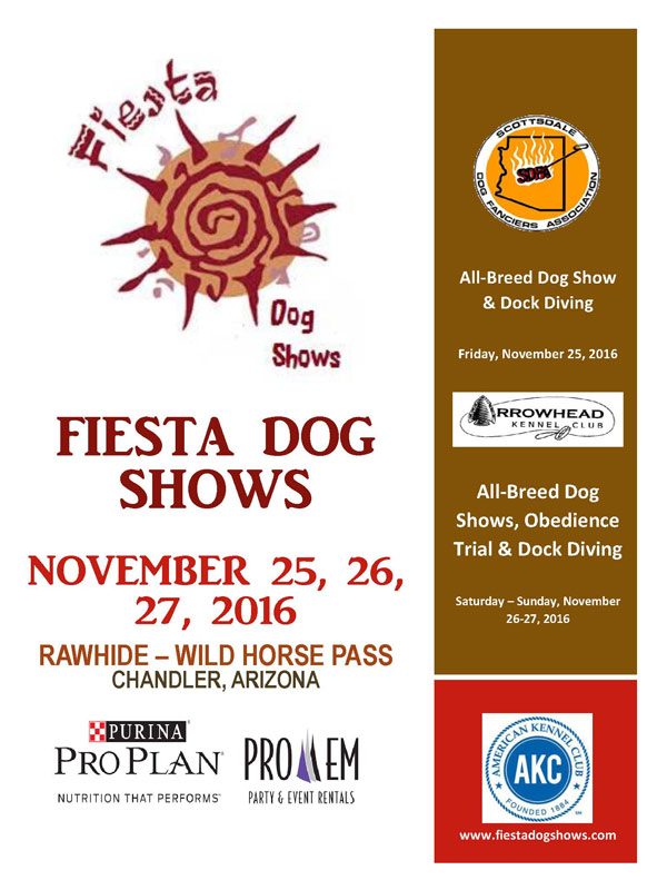 Fiesta Dog Shows